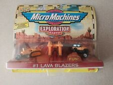 Micro Machines Exploration Earth #1 Lava Blazers From Galoob1998