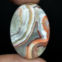 Cts. 30.55 Natural Designer Crazy Lace Agate Cabochon Oval Cab Loose Gemstone