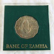 Zambia 1969 FAO crecer más alimentos 50 NGWEE-en Estuche Estilo Spink