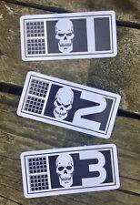 Rogue Trooper Bio Chip stickers