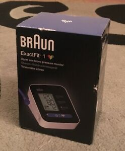 Braun Exact Fit 1 Upper Arm Blood Pressure Monitor Brand New Sealed Costs £59
