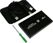 "Caja Externa Carcasa para Disco Duro Portatil PC 2.5"" USB SATA ATA y Funda 2068R"