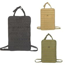 Tactical Molle Car Seat Back Cover Storage Organizer Bag Vehicle Panel Pouch bag