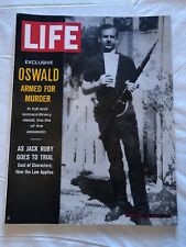 LIFE MAGAZINE FEBRUARY 21 1964 EXCLUSIVE OSWALD JACK RUBY TRIAL
