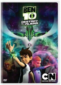 BEN 10: DESTROY ALL ALIENS NEW DVD