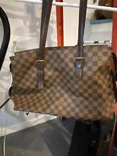 l v handbag authentic used