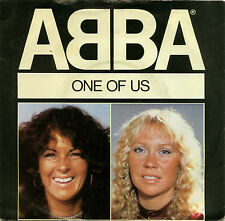 """ABBA  """"ONE OF US c/w SHOULD I LAUGH OR CRY""""   CLASSIC 80's    LISTEN!"""