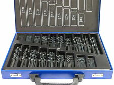 170 tlg HSS-R Spiral-Bohrer (1-10mm) Metall-, Stahl-, Holz-Bohrer DIN338