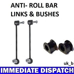 PASSAT TOURAN GOLF PLUS EOS FRONT Anti Roll Bar Sway bar 2 x Bushes & 2 x Links