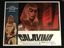 GALAXINA SCI FI Space babe Original lobby card 1980 Playboy Dorothy Stratten