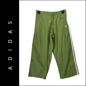 Adidas Women Active Wear Sweatpants Pants Green Size Medium