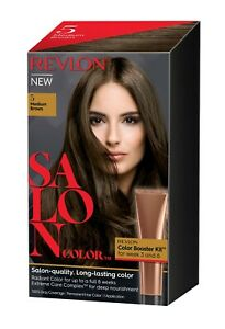 Revlon Salon Color Medium Brown #5 Revlon Salon Color Kit