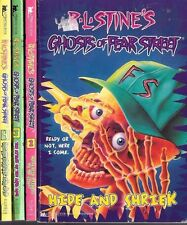 R. L. Stine's Ghosts of Fear Street Volumes 1-4 PB Minstrel Pocket Books 1995