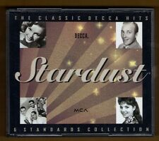STARDUST cd THE CLASSIC DECCA HITS & STANDARDS COLLECTION - VARIOUS - 2 DISC SET