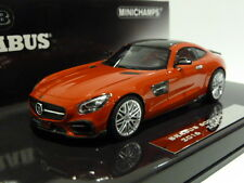 New Minichamps 1:43 Brabus Mercedes 600 AMG GTS 2016 Red 437032521 ltd 300 pcs