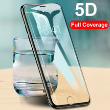 5D Curved Full Cover Tempered Glass Screen Protector for iPhone X 7 8 6S Plus