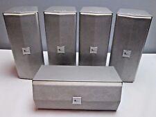 5 Home Surround Sound Speakers Sharp Silver cp-at1000c 1 Bit Technology