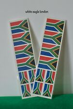 South Africa Flag Temporary Face Tattoo sticker Cricket Fans World CUP flag