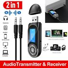 3 in1 Wireless 5.0 Transmitter Receiver Wireless Audio 3.5mm Adapter for TV st