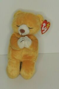 TY BEANIE BABY - Hope Bear. New With Tags. The Praying Bear