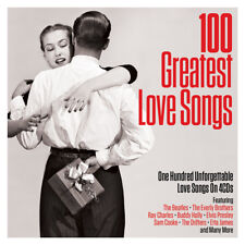 100 Greatest Love Songs - One Hundred Unforgettable Love Songs 4CD NEW/SEALED