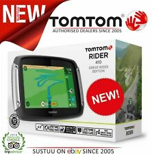 TomTom Rider 410 Great Rides EU Edition│Motorcycle│GPS-SatNav│Lifetime World Map