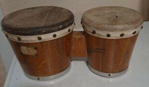 Vintage Bongo Drums 1960
