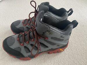 Merrell Moab Mid Gore-Tex GTX Walking Boots (Men's) Castle Rock / Black size 8.5