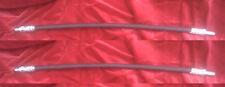 (x2) JAGUAR Mk7 Mk8    MkVII MkVIII    FRONT BRAKE HOSES HOSE PIPES   (1951- 54)