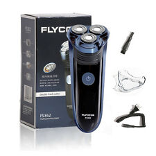Rotary 3D Rechargeable Washable Men's Cordless Electric Shaver Razor Deluxe Pro
