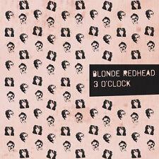 """BLONDE REDHEAD 3 O'CLOCK VINILE EP 12"""" NUOVO SIGILLATO !"""
