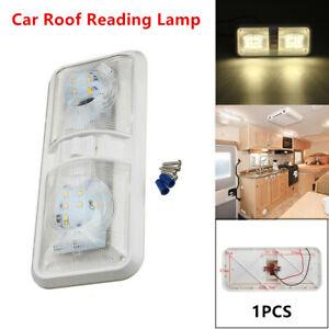 1* Car Ceiling 48LED Light Auto Roof Reading Lamp Camper RV Boat Indoor Lighting