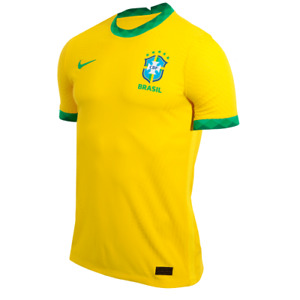 CBF Brazil Soccer Football Home Player Jersey Shirt  - 2020 2021