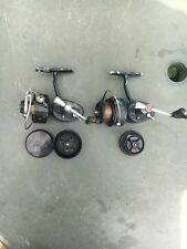 MITCHELL 308/408 FISHING REELS WITH SPARE SPOOLS USED