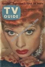 TV GUIDE - LUCILLE BALL - JAN 12, 1957