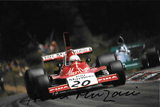 Arturo Merzario firmato F1 ISO Williams FW02, French GP, Digione 1974