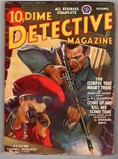 Dime Detective Oct 1941 Woolrich, D.L. Champion, Norbert Davis, T.T. Flynn