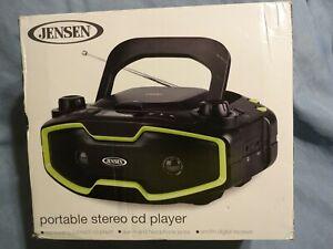 Portable Stereo MP3 CD Player Digital AM FM Radio Multi-Function LCD Display New