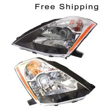 Halogen Head Lamp Assembly Set of 2 Pair LH & RH Side Fits Nissan 350Z 2003-2005