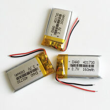 3 pcs 3.7V 160mAh lipo Battery Cells 401730 For Mp3 headphone bluetooth recorder