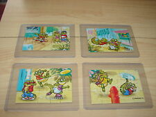 CRAZY CROCOS 1993 (D) - SUPERPUZZLE (ALLE 4 PUZZLE) KOMPL. OHNE BPZ