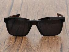 Custom Polarized Clip On Sunglasses for Fenceline OX8069 53-16-136 Black