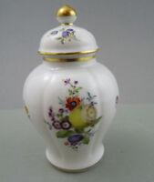 NP 1894,-€ Meissen Deckel Vase Frucht- + Blumenmalerei alte Manier 1.Wahl TOP