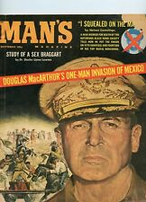 Man's Magazine Oct 1960 October  Douglas MacCarthur Cover See My Store