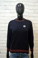 NORTH SAILS Maglione Felpa Donna Taglia S Pullover Sweater Cardigan Lana Blu
