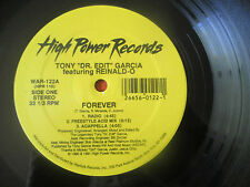 "TONY ""DR. EDIT"" GARCIA feat Reinald-O/Eclipse -FOREVER/NO ONE BUT YOU 12"" 1991"