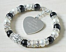 Engraved Mum Mother Mummy Mama Birthday Personalised Bracelet Gift