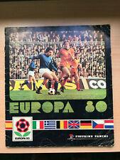 RARE EURO ITALY EUROPA 1980 EM 80  PANINI Sticker ALBUM - COMPLETE -3