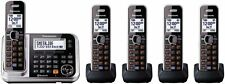 New ListingPanasonic Kx-Tg7875S Dect 5-Handsets Bluetooth Cordless Telephone Dect 6.0 Plus