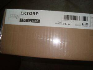 IKEA EKTORP Loveseat with Chaise Cover for IKEA EKTORP Stenasa White Slipcover